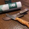 ソロキャンプの新しい相棒!Helle knife Temagami CA(ヘレ・ナイフ テマガミ カーボン)購入♪
