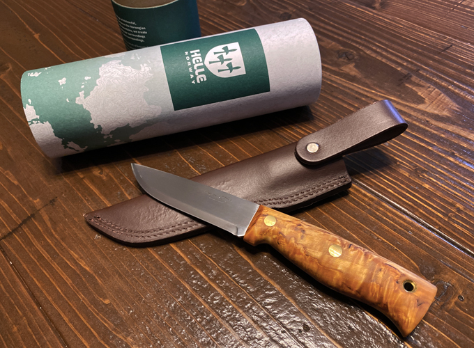 Helle knife Temagami CA(ヘレ・ナイフ テマガミ カーボン)