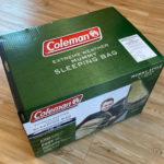 マイナス18度対応で冬キャンプも安心!コールマンのマミー型寝袋を購入しました♪