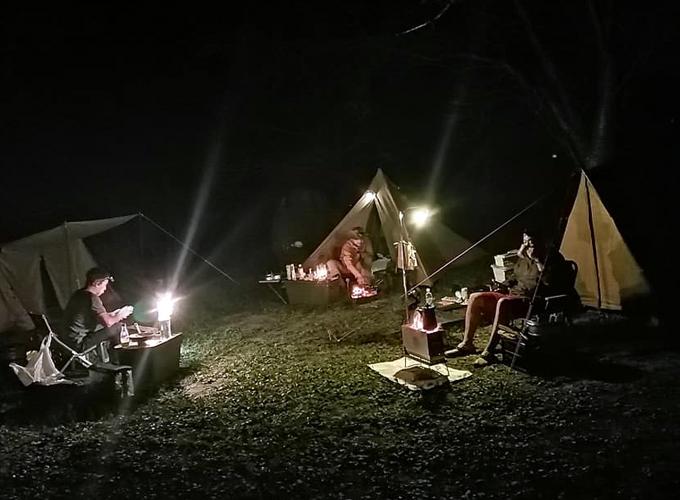 合同ソロキャンプ(兵庫県姫路市 牧野キャンプ場)